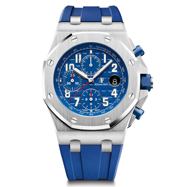 Новинки Audemars Piguet в линейке Royal Oak Offshore Chronograph