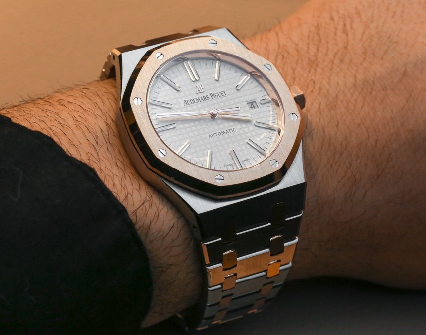 Audemars Piguet Royal Oak 15400SR Two-Tone Watch
